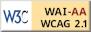 Icono de conformidad con el Nivel Doble-A,     de las Directrices de Accesibilidad para el Contenido Web 1.0 del W3C-WAI.  Abrir en ventana nueva