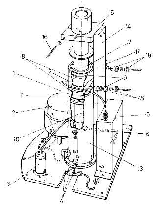 Taladro radial funcionamiento